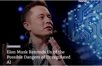 马斯克再提醒:不受监管的AI比核武器更危险