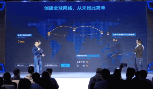 阿里云发布首款全球智能互联的网络产品——云骨干网