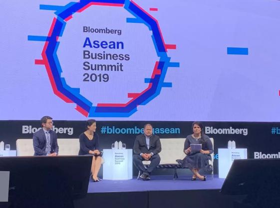 金融壹账通邱寒出席彭博东南亚商业峰会 畅谈科技提升效率和公平