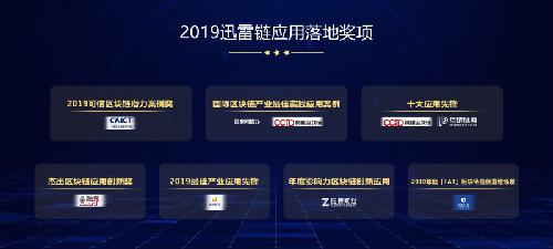 """2019区块链起飞年看""""中国链""""迅雷链达成了哪些成就?"""