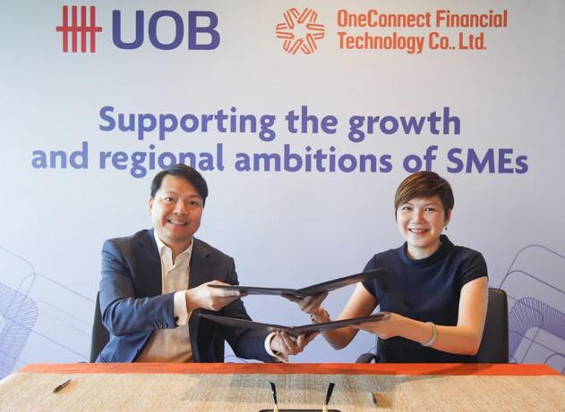 金融壹账通与新加坡通信媒体发展局联合推出壹企欣 助阵中新两国小企业跨境贸易