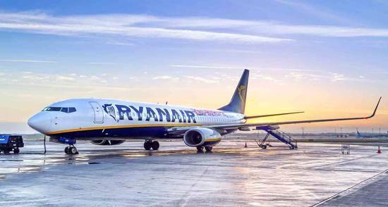 瑞安航空2020年第二季度净亏损2.26亿欧元