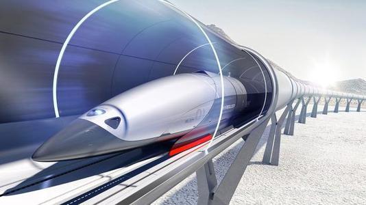 维珍超级高铁完成首次载人乘坐测试
