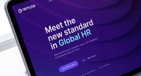 全球远程办公服务商Remote完成B轮融资估值超过10亿美元 成为新独角兽公司