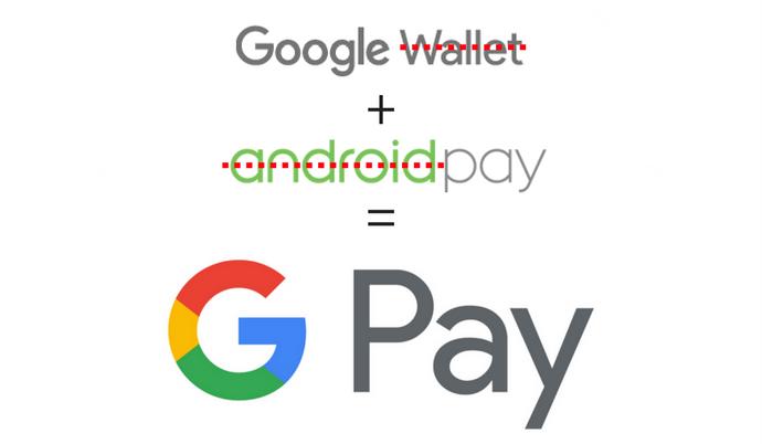 谷歌将安卓支付和谷歌钱包改为谷歌Pay