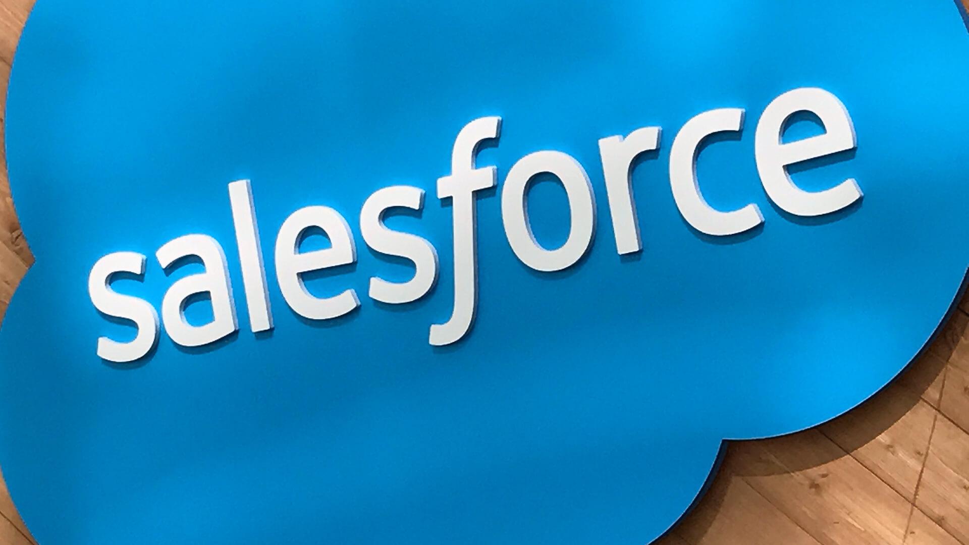 云计算公司Salesforce正研究基于区块链技术的产品