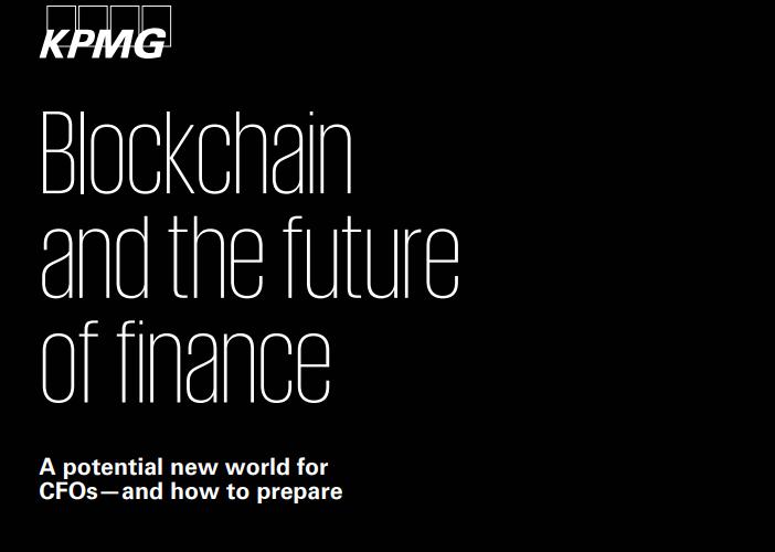 毕马威:区块链和财务的未来